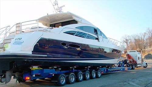 Transport a boat and trailer with All Day Auto Transport