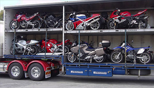 Motorcycle open Transport and Shipping by All Day Auto Transport