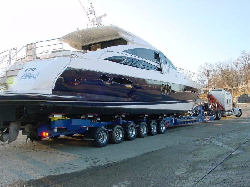Transport a boat or yacht with All Day Auto Transport