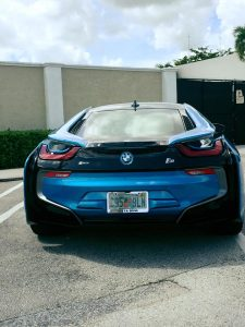 BMW I8 Transported by All Day Auto Transport