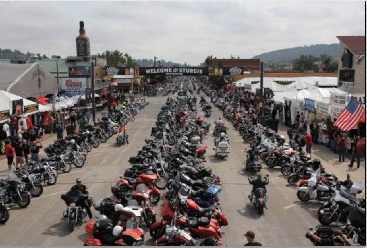 Sturgis Motorcycle Show via All Day Auto Transport