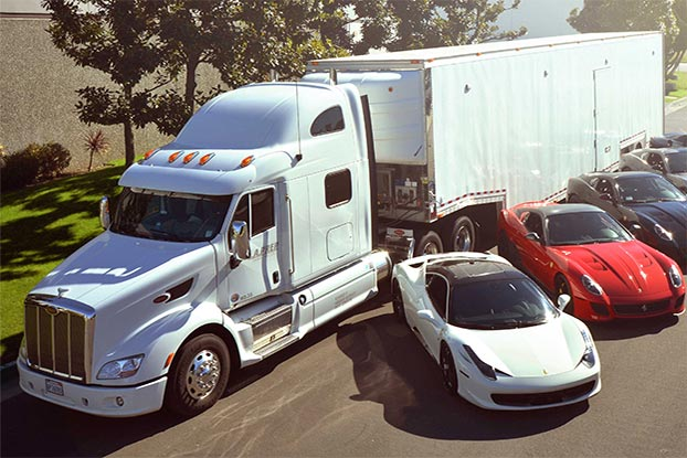 Enclosed Auto Carrier - luxury cars auto transport