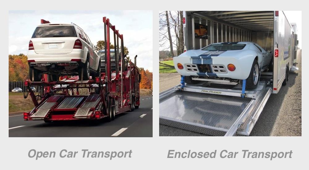 Open Car Transport Vs. Enclosed Car Transport