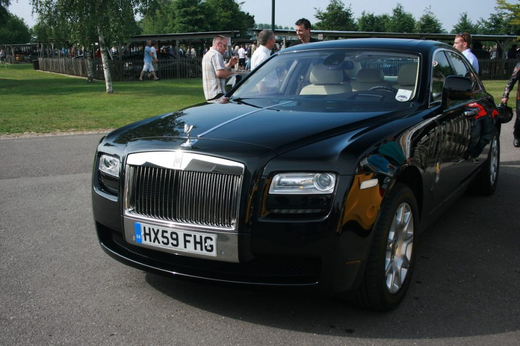 Rolls Royce Ghost - Transport across the country - All Day Auto Transport