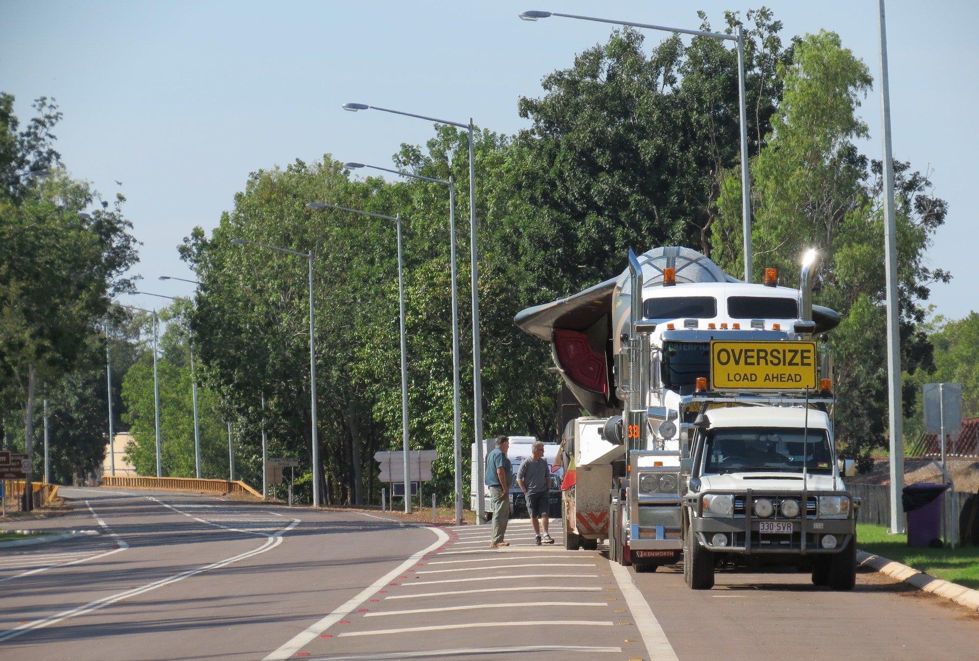 Oversized Vehicle Transport by Ken Hodge