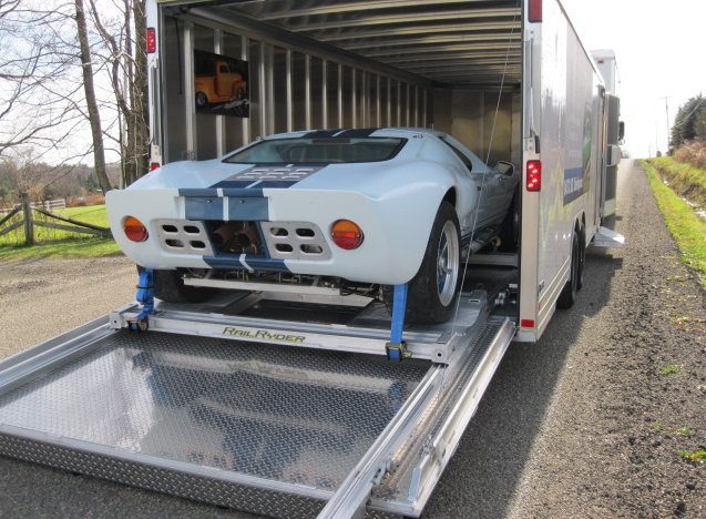 Enclosed Car Trailer - All Day Auto Transport