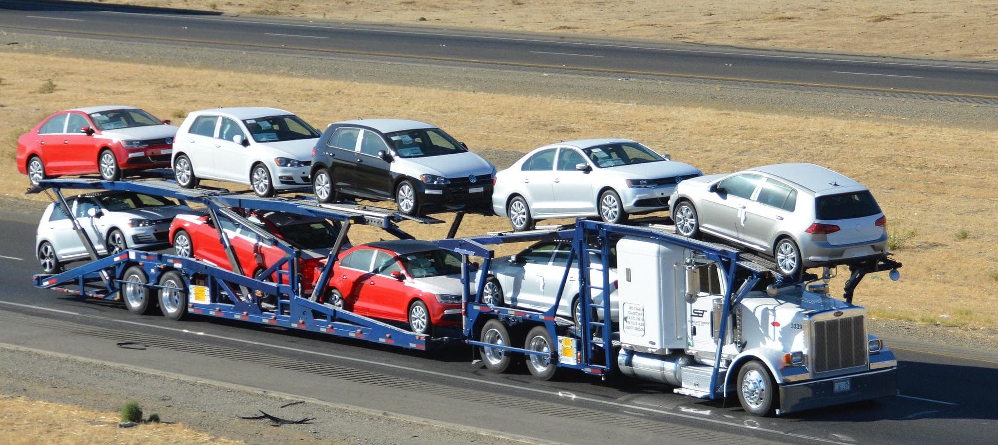 Open Auto Transport - Car Shipping by www.alldayautotransport.com